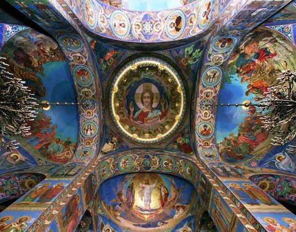 Мозаика Спаса на Крови в Санкт-Петербурге
