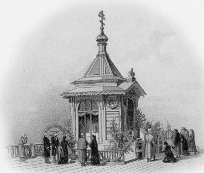 Часовня в Санкт-Петербурге на месте гибели Александра II