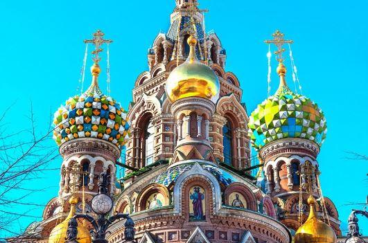 Купола Спаса на Крови в Санкт-Петербурге
